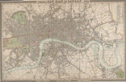 Cross's new plan of London. 1828